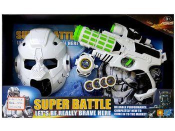 """Набор пистолет космический, браслет,пули,шлем """"Super Battle"""""""