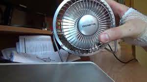 Настольный вентилятор Polaris PUF1012S