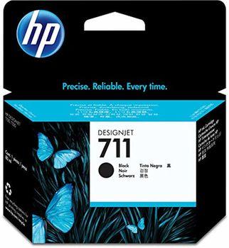 HP 711 80-ml Black Ink Cartridge (CZ133A), DesignJet T120, T520