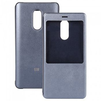 Xiaomi Lether Smart Display Case Gray for Xiaomi Redmi Pro
