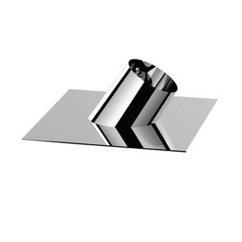 Ø200 Накрышный переход угловой 45° (inox 304)