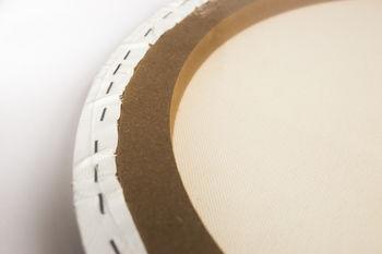Холст на подрамнике круглый Малевичъ, хлопок 380г, диаметр 60 см
