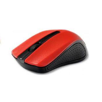 Gembird MUSW-101-R, Wireless Optical Mouse, 2.4GHz, 1200dpi, Nano Reciver, USB, Red