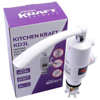 Электрический кран Kitchen Kraft KD3L