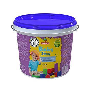 Supraten Краска для детских комнат Baby Smile B-0 4.2кг