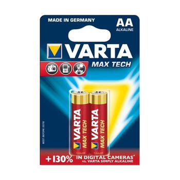 купить Батарейки Varta AA Max Tech 2 pcs/blist Alkaline, 04706 101 412 в Кишинёве