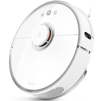 """XIAOMI """"Roborock Mi Robot Vacuum S6"""" EU, White, Robot Vacuum, Mopping, Suction 2000pa, Sweep, Remote Control, Self Charging, Dust Box Capacity: 0.50L, Battery: 5200mAh, Working Time: 2.5h, Maximum area about 250 m2, Water Tank, Barrier height 2cm"""
