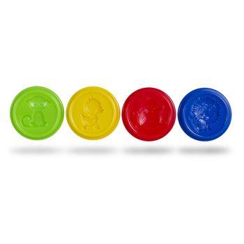 Масса для лепки Colorino 4 цветов 224 г.