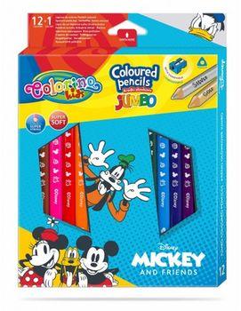 Цветные карандаши Jumbo - Colorino Disney Mickey Mouse