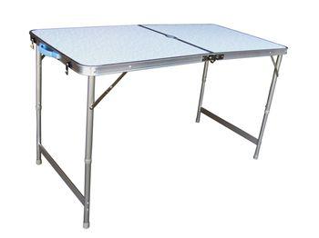 Стол раскладной 60X120X70cm, алюминий, чемодан