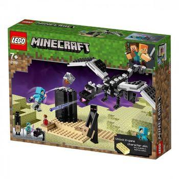 """LEGO большие фигурки Minecraft  """"Последняя битва"""", арт. 21151"""