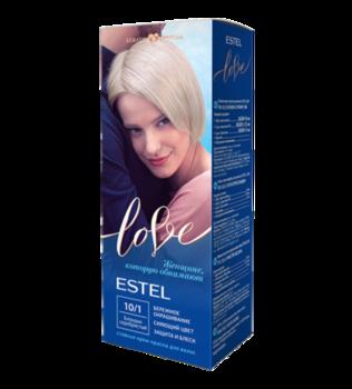 Краска для волос, ESTEL Love, 100 мл., 10/1 - Блондин серебристый
