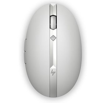 HP Spectre Rechargeable Laser Mouse 700, 1200 dpi, Wireless/Bluetooth, Silver