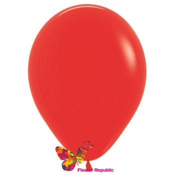 купить Латексный воздушный шар Красный -30 см в Кишинёве
