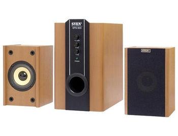 Active Speakers SVEN SPS-820 Wooden ( 2.1 surround, RMS 38W, 18W subwoofer, 2x10W Satellites ) (boxe sistem acustic/колонки акустическая сиситема)