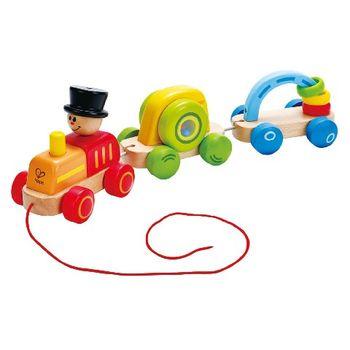 купить Hape Деревянная игрушка-каталка Паровозик в Кишинёве