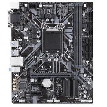 GIGABYTE B360M D2V, Socket 1151, Intel® B360 (8th Gen CPU), Dual 2xDDR4-2666, CPU Intel graphics, VGA, DVI, 1xPCIe X16, 6xSATA3, 1xM.2 slot, 2xPCIe X1, ALC887 HDA, GbE LAN, 6xUSB3.1, mATX