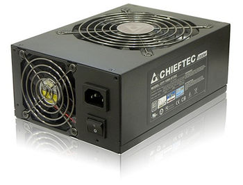 850W ATX Power supply Chieftec CFT-850G-DF, 850W, Dual fan <~27 dB, EPS12V, Cable management, Active PFC (Power Factor Correction)