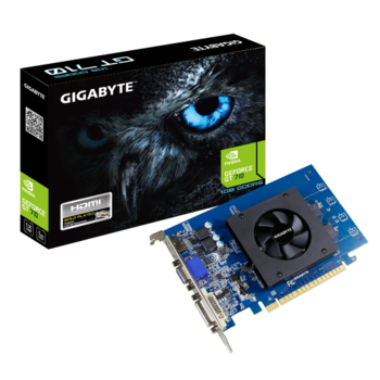 VGA Gigabyte GT710 2GB GDDR5 Low Profile