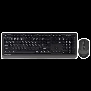 купить Клавиатура A4Tech FG1010 Kit Black/Grey в Кишинёве