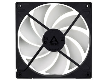 Case/CPU FAN Arctic F14, 140x140x27 mm, 3-pin, 1350rpm, Noise 0.3 Sone (@ 1350 RPM), 74 CFM (126 m3/h)