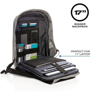 """cumpără Geantă laptop 17"""" Bobby XL anti-theft backpack, Black în Chișinău"""