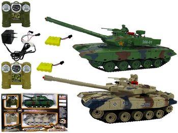 Танк 1:24 Р/У, 2шт (T90, 308-01)