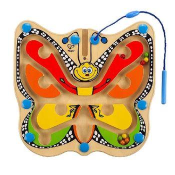 купить Hape Деревянная игрушка Магнитный лабиринт Бабочка в Кишинёве