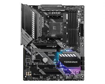 MSI MAG B550 TOMAHAWK, Socket AM4, AMD B550, Dual 4xDDR4-5100+, APU AMD graphics, HDMI, DP, 2xPCIe4.0 X16, 6xSATA3, RAID, 2xM.2 Gen4.0 x4, 2xPCIe X1, ALC1220 HDA, S/PDIF, 2.5GbE+1Gbe LAN , 6xUSB3.2 Gen1, 2xUSB3.2 Gen2(TypeA+C), RGB Mystic Light, ATX
