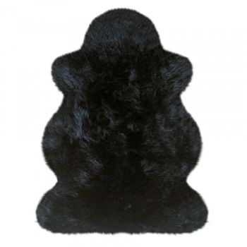 Шкура овечья №102SZ, черная