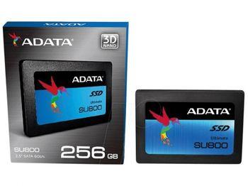 """2.5"""" SATA SSD  256GB  ADATA Ultimate SU800"""