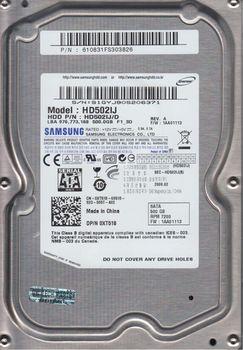 """.500Gb HDD 3.5"""" Samsung 500Gb HD502IJ SpinPoint F1, 7200rpm, 16Mb, SATA2"""