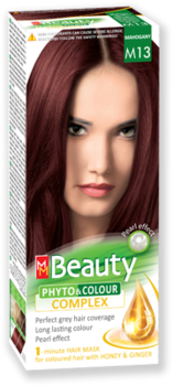Краска для волос,SOLVEX MM Beauty, 125 мл., M13 - Махагон