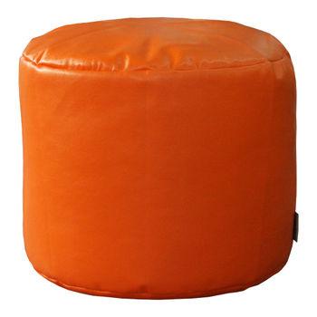 cumpără Puf suport Cilinder, orange în Chișinău