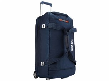 купить Travel Bag - THULE Crossover 87L Rolling Duffel, Dark Blue в Кишинёве