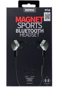 Bluetooth-гарнитура Remax RB-S2 Black