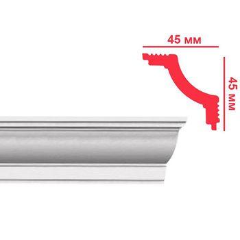 Plintex Плинтус потолочный L 45х45