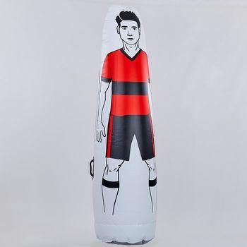 Манекен надувной Футболист (PVC, высота 175 см, d=46 см) 0507 (2491)
