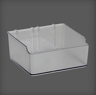 cumpără Container plastic 112x110x48, mm, transparent în Chișinău