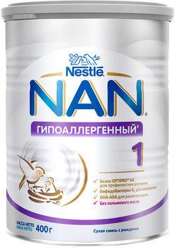 купить Nestle Nan Гипоаллергенный 1 молочная смесь, 0+мес. 400г в Кишинёве