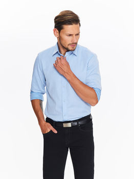 Рубашка TOP SECRET Синий skl2373