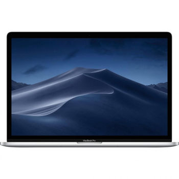 "купить Laptop Apple MacBook Pro, 15.4"" Silver, Retina 2880x1800, Intel Core i7-9750H 2.6GHz-4.5GHz, DDR4 16GB, SSD 256GB, AMD Radeon Pro 555X 4GB GDDR5, 802.11ac, 4xThunderbolt v3  4xUSB3.2-C Alternate Mode, Mac OS Mojave, Touch Bar, RU, 84Wh, 1.83Kg (MV922) в Кишинёве"