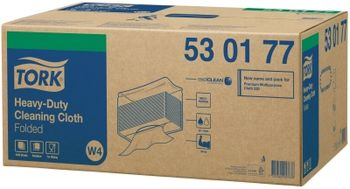 Tork нетканый материал повышенной прочности в салфетках, W4, 80г/м2, 38.5*64.2, 60/5, Белый, Premium