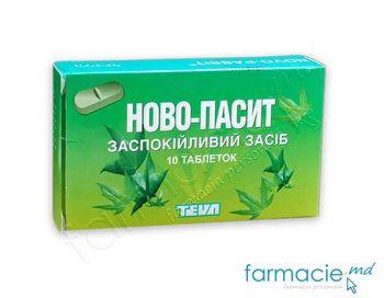 купить Novo-Pasit tab. N10 в Кишинёве