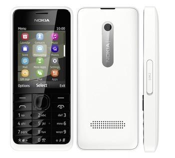 Nokia 301 White