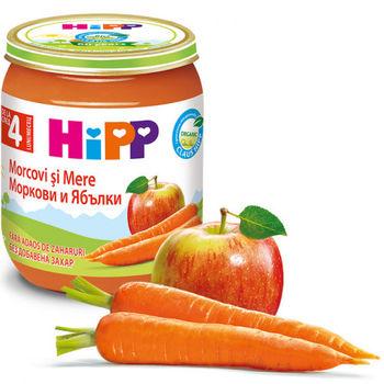 купить Hipp пюре яблокo и морковь, 125г в Кишинёве