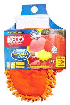 Перчатка-тряпка из микрофибры для авто NECO