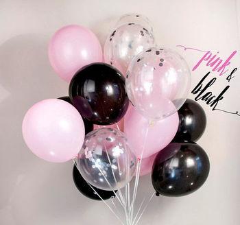 купить Набор шаров «Pink & Black» в Кишинёве