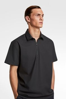Рубашка ZARA Чёрный 5445/353/800.