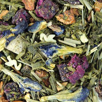 "Зеленый чай ""Фламинго с арбузом"" 100гр"